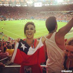 Bola.net: Suporter Ayu Piala Dunia 2014: Chile