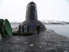 "On June 9,Russian Typhoon class SSBN ""Dmitri Donskoi"" left iport for mission at sea.Moored in harbour,were 2 others of same class.Typhoon class SSBNs (Soviet code: 941 Akula) largest submarines of former Soviet Union,also largest in world.6 built in total,but after collapse of Soviet Union,3 dismantled.In future,Russian Navy will replace them with ""Borei"" class for its strategic nuclear deterrence forces."