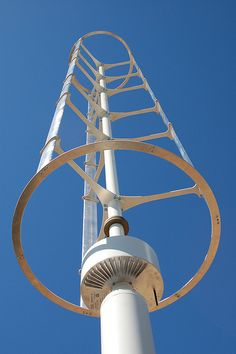 Vertical axis windmill information and facts article. VAWT have lots of good points when compared to classic wind generators and are increasing in popularity with respect to homeowners. http://netzeroguide.com/vawt.html beauty shot of the windspire...