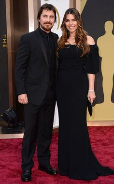 Oscars Christian Bale and Sibi Bale walks the red carpet. Celebrity Couples, Celebrity Gossip, Celebrity Pictures, Famous Celebrities, Hollywood Celebrities, Celebs, Brad And Angie, Fairytale Gown, Oscars 2014