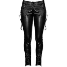 PUNK RAVE VAMPIRESS PANTS ($91) ❤ liked on Polyvore featuring bottoms