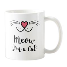 Our adorable cat mugs make great gifts for cat loving people at any time of the year. Get your fill with a sweet or funny cat mug that will brighten your day.