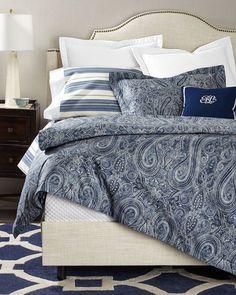 Luxury Bedding from the Top Designer Bedding Brands Blue Bedding, Linen Bedding, Bedding Sets, Plaid Bedding, Bed Linens, Comforter, King Diamond, Full Duvet Cover, Duvet Covers