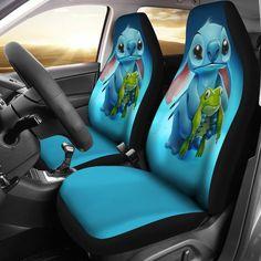 Stitch Car Seat Covers 2 – The Childhood Dream Disney Pixar, Disney Cars, Disney Movies, Harry Potter Car, Lelo And Stitch, Cute Stitch, Anna, Vintage Trends, Cute Cars