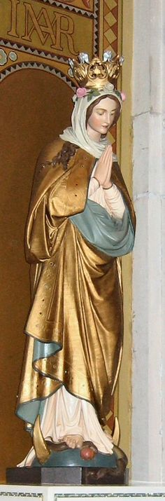 Immaculata Statue. Benedictine Monastery, Sisters of Perpetual Adoration, Clyde MO