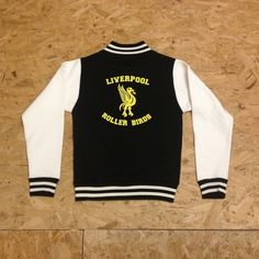 Custom Varsity Jacket in Black [colour options], £29.00 by Roller Derby City