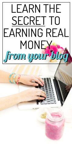 Make money on your blog with affiliate marketing. Learn how to work smarter not harder.