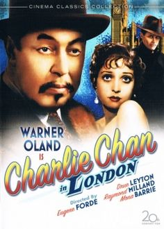 Charlie Chan in London movie poster