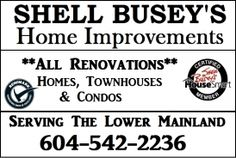 Home Improvement Services | Ask Shell Busey | Housesmart | Surrey BC