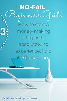 Ready to start a money-making blog? Here's the no-fail guide you need to set yourself up for success!