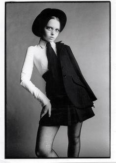 Biba catalogue 1969 model Stephanie Farrow
