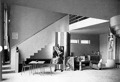 1929_ tamara de lempicka atelier dessiné par l'architecte Robert Mallet-Stevens