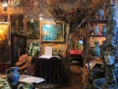 MorbidFrog - Prague Magic Cave, Reon Fantasy art on Petrin Hill