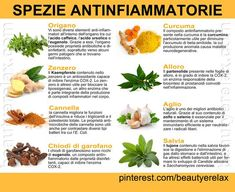SPEZIE ANTINFIAMMATORIE  #SPEZIE #ANTINFIAMMATORI #ANTIOSSIDANTI #BENESSERE Healthy Drinks, Healthy Cooking, Healthy Eating, Cooking Recipes, Healthy Recipes, Healthy Habits, Healthy Life, Health And Wellness, Health Fitness