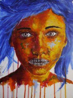 "Saatchi Art Artist Bazevian BAZEVIAN; Painting, ""Post Synthétique XII Homework""…"