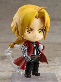 Anime & Figure News - Fullmetal Alchemist – Edward Elric Nendoroid action figure by Good Smile Company Fullmetal Alchemist Edward, Fullmetal Alchemist Brotherhood, Fullmetal Alchemist Cosplay, Edward Elric, Anime Chibi, Anime Manga, Der Alchemist, Angry Expression, Overwatch