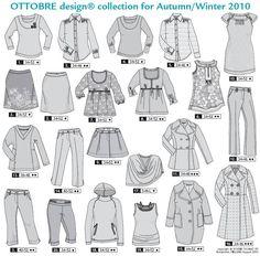 Schnittmuster Ottobre design Woman Herbst/Winter 05/2010