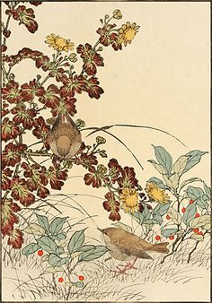 Peonies and Paint: Favorite Bird-and-Flower: Imao Keinen