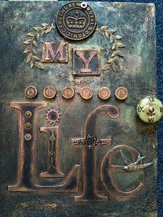 Yours Artfully -Beautiful metal art by Linda Brown