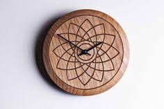 Lotus clock by David Tragen http://davidtragen.co.uk/portfolio/