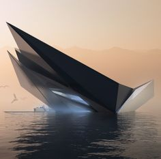 Top 100 Amazing Architecture Gallery 100 Buildings That Show the Future of Architecture Rethinking The Future Concept Architecture, Futuristic Architecture, Amazing Architecture, Architecture Design, Folding Architecture, Creative Architecture, Contemporary Architecture, Future Buildings, Unique Buildings