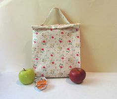 Large flower bag Oilcloth bag Waterproof oilcloth by shiraproducts