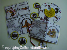 Monica McConkey reflects on the Apostles witnessing the Ascension of our Lord. and presents a couple NEW Catholic Resources to help us prepare for Pentecost! Pentecost, Craft Kits, Catholic, Prepping, Mystery, Presents, Thoughts, Crafts, Gifts