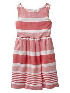 Multi-stripe dress