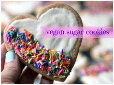 "The Best (Vegan) Sugar Cookies – Ever! ""...the goal here was to make a knock-out sugar cookie – not a ""it's-good-for-a-vegan-cookie"" cookie."""