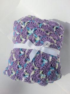 Baby Girls Swaddling Blanket with by AshleysCrazyCreation on Etsy