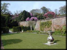 SUNDIAL GARDEN, HELIGAN, Cornwall Lost Gardens Of Heligan, Sundial, Cornwall, Golf Courses, Park, World, Plants, Skincare, Top