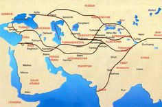 He went along the silk road because he new how trade oriented it was and he wanted to discover new life on his journey.