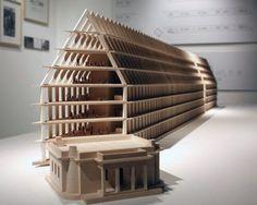 model of the upcoming porta volta fondazione feltrinelli  feltrinelli + herzog & de meuron: an urban project for milan
