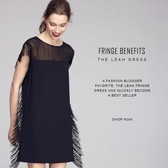 Leah Fringe Dress #ootd #fashion #style #cooperandella