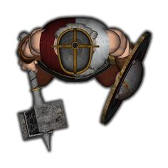 m Fighter shield Hammer helm top down token Virtual Tabletop, Tabletop Rpg, Top Down Game, Space Opera, Advanced Dungeons And Dragons, Dungeon Maps, Fantasy Male, Fantasy Setting, Dnd Characters