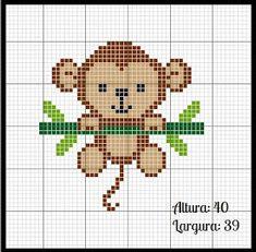 Cute Cross Stitch, Cross Stitch Borders, Cross Stitch Animals, Modern Cross Stitch, Cross Stitch Designs, Cross Stitching, Cross Stitch Embroidery, Cross Stitch Patterns, Loom Patterns