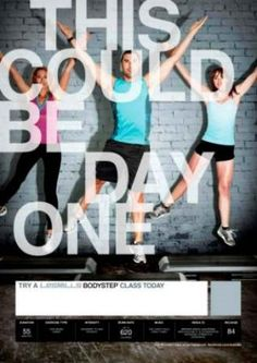 Tuesday, the 16th of October, 2012. Les Mills - Body Step 84