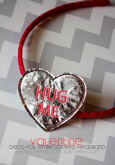 Hug Me Deco Foil Emb