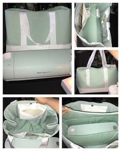 Cricut explore air 2 MATCHING TOTE BAG CARRYING CASE! My initial design was too big and floppy so I reworked it so that it's just right. It's padded and has pockets.