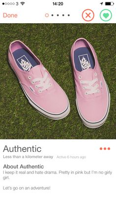 Have these pale pink authentic Vans trainers found their Valentines Day match on footsie?
