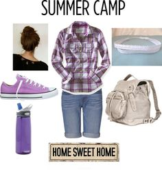 summer camp outfit., created by onedirection331 on Polyvore