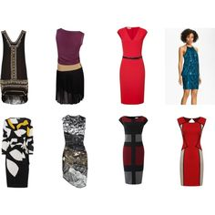 FG Dresses by rilles on Polyvore featuring JS Boutique, Gucci, Diane Von Furstenberg, Michael Kors, River Island, Aminaka Wilmont, Little Mistress and Linea