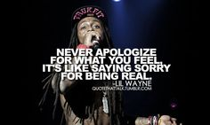 Lil Wayne Quote. ♥ New Hip Hop Beats Uploaded  http://www.kidDyno.com