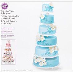 Wilton 6 Tier Towering Cake Stand
