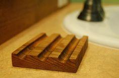 wood soap dish
