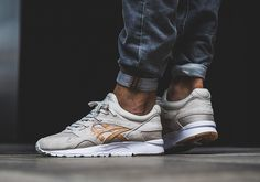 #sneakers #news  Vegetable-Tanned Leather Accents Two New ASICS GEL-Lyte V Colorways