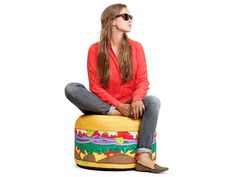 Burger Bean Bag Chair