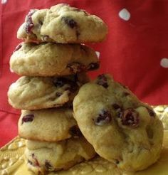 Belle of the Bakery: The infamous cranberry orange cookies…