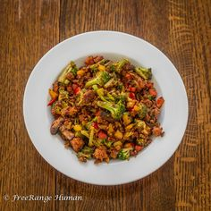 Super easy and quick recipe for making a classic stir fry dish with homemade chorizo
