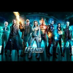 Legends of Tomorrow season 3 and The Flash season 4 air Tuesday nights this fall on The CW, with Supergirl season 3 airing on Monday nights and Arrow . Rip Hunter, Gotham, Legends Of Tommorow, Dc Legends Of Tomorrow, Dc Comics, Netflix, The Cw, The Flash, Series Dc